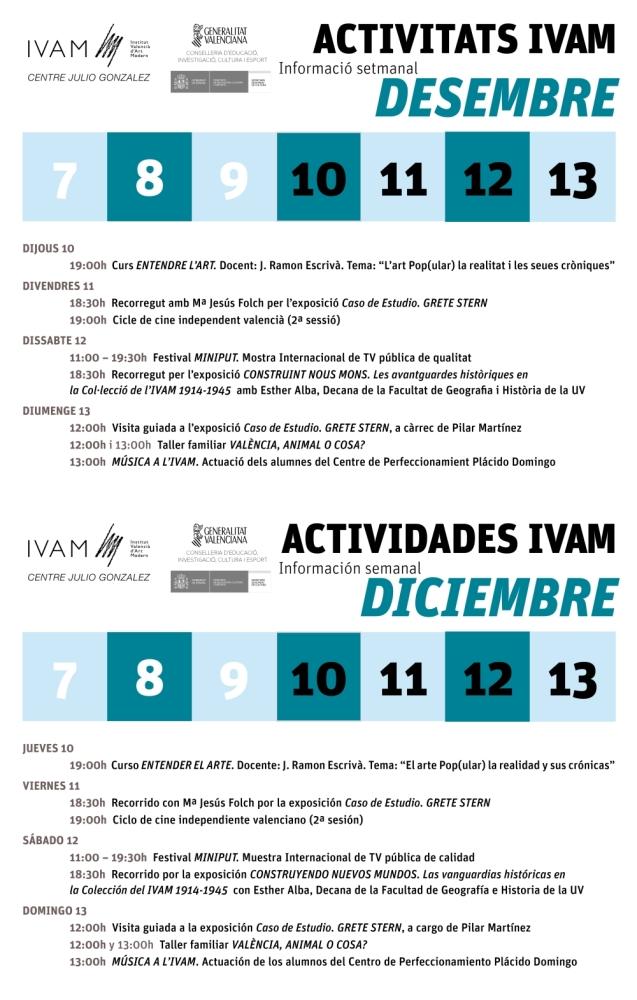 IVAM_7 al 13 diciembre 2015