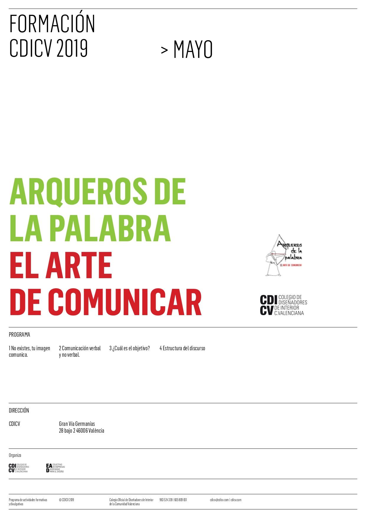 Curso Arqueros De La Palabra El Arte De Comunicar En