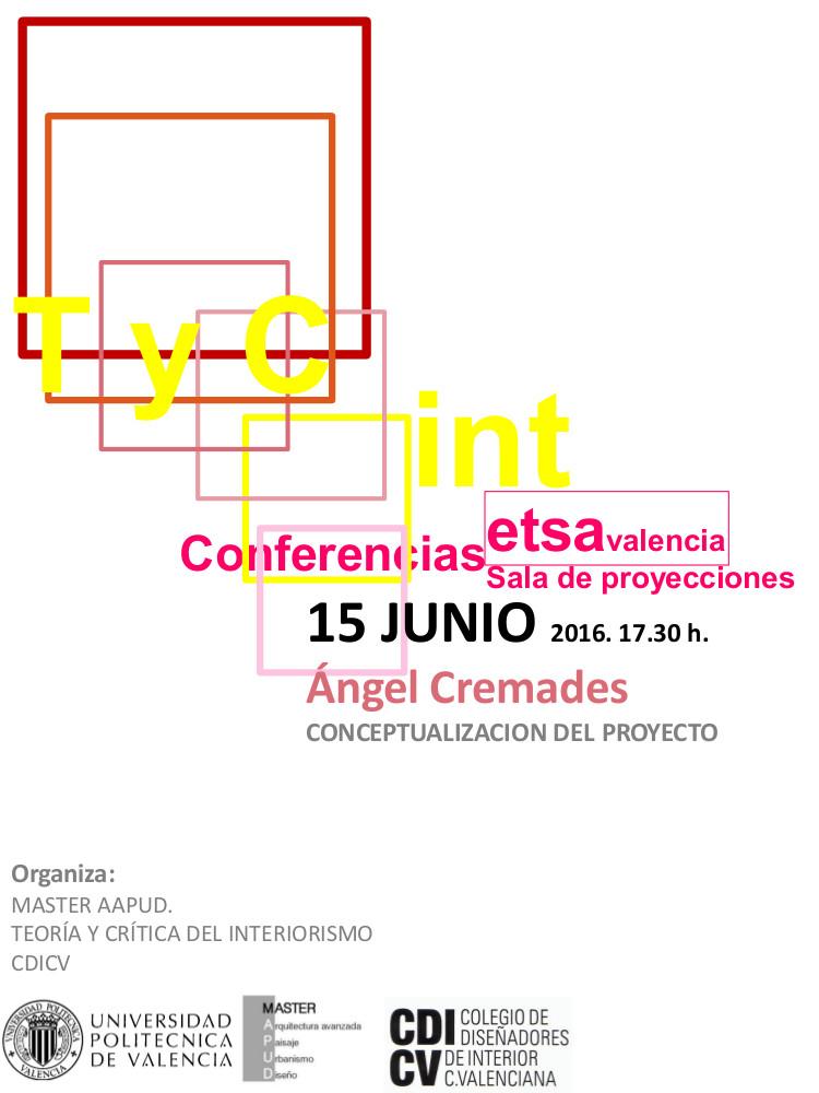 Conferencia de ngel cremades en la universitat for Master interiorismo valencia