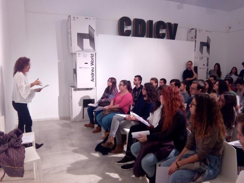 Los alumnos de la easd de valencia visitan el cdicv cdicv - Easd valencia ...